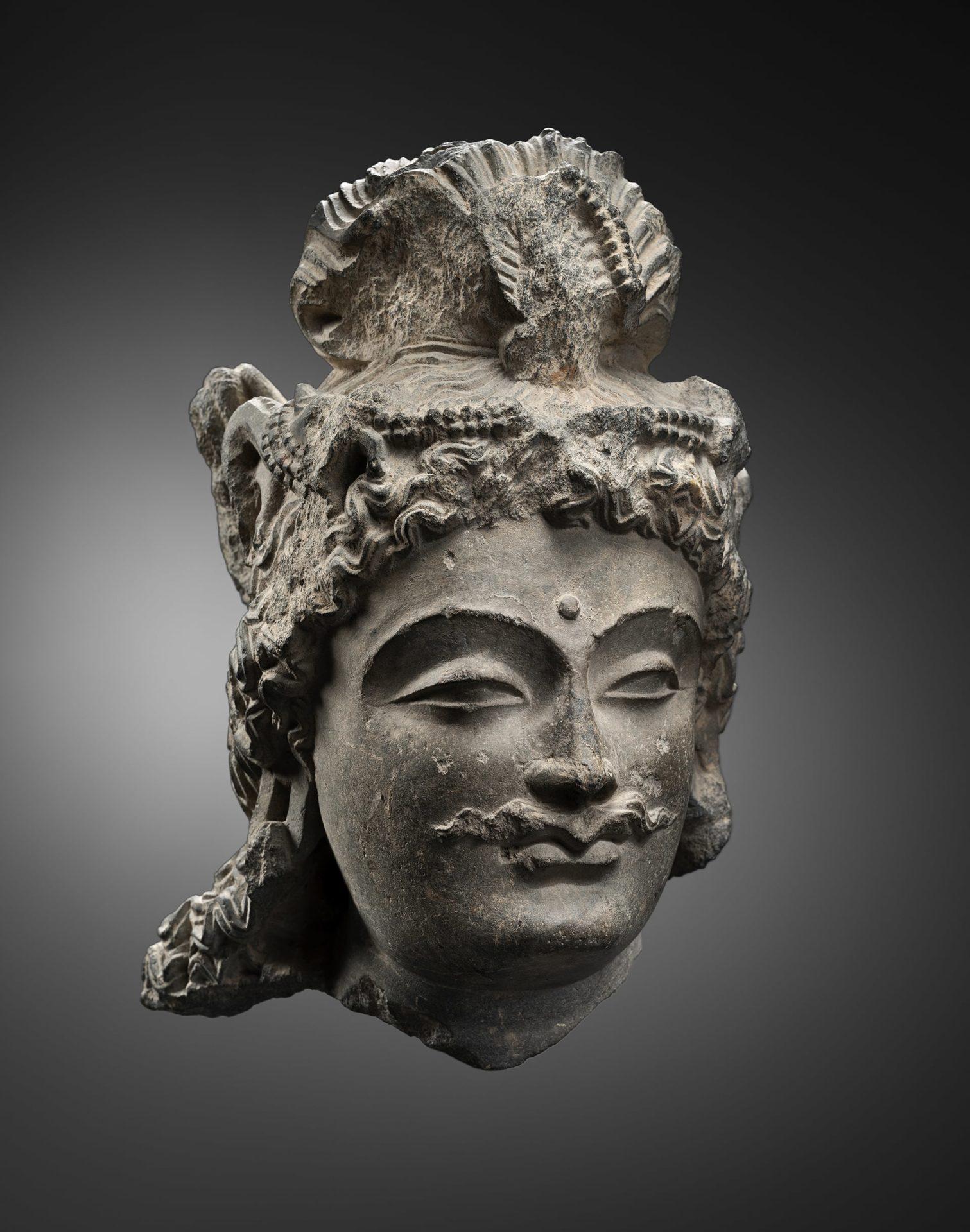 Bodhisattva Head