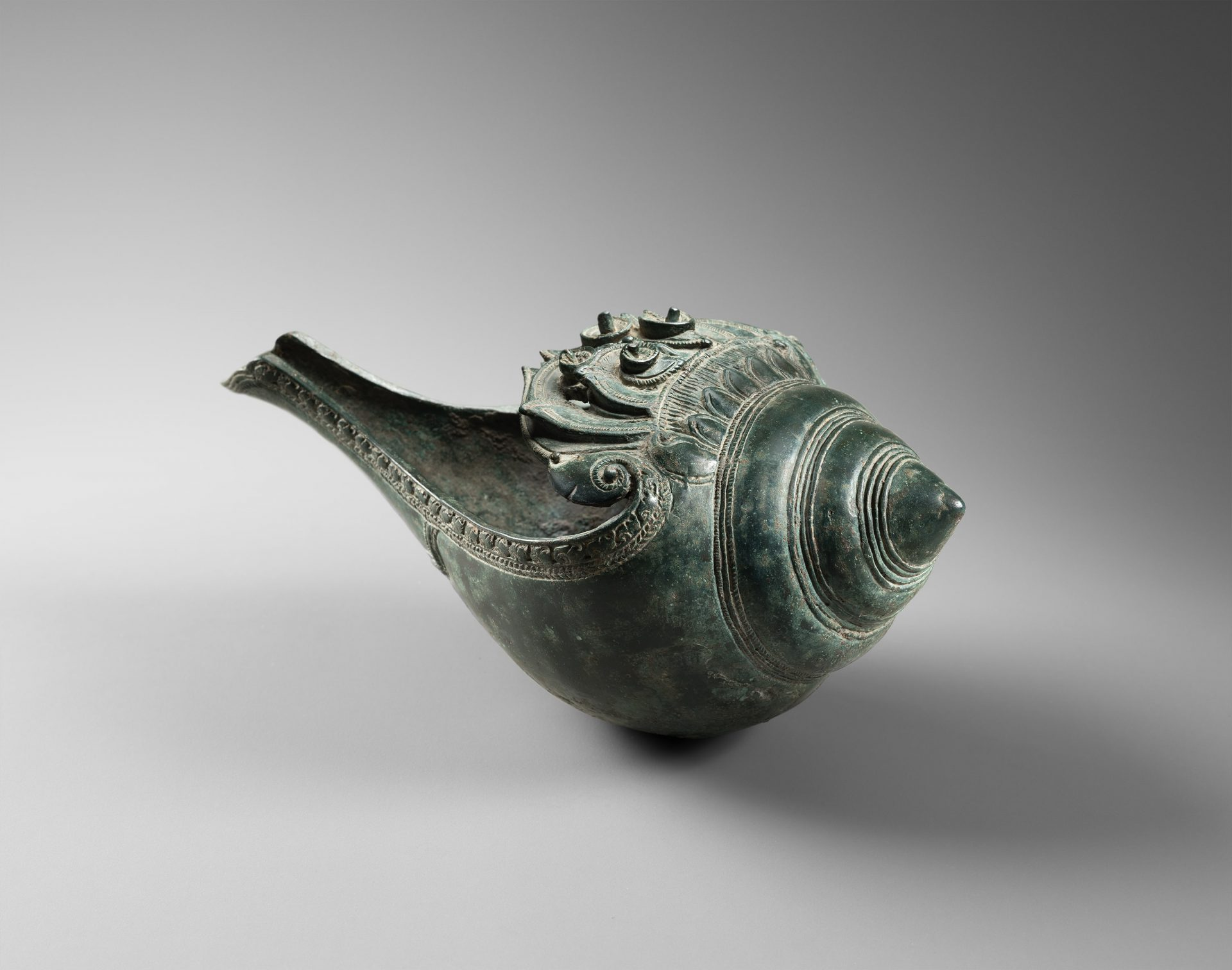 Bronze Ritual Conch Khmer